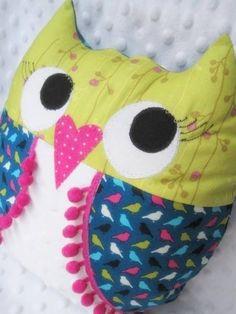 Pink Owls....my secret obsession, lol by maryellen