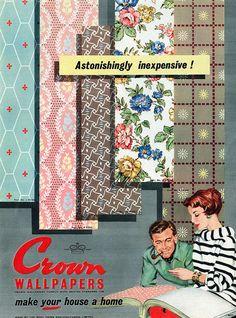 Astonishingly inexpensive Crown Wallpapers! :)