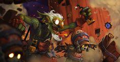 Goblins vs Gnomes: Goblin Infiltrator Entry by mohzart