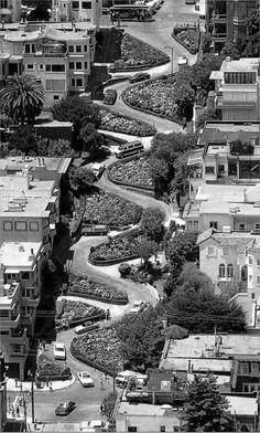 Lombard Street, San Francisco, CA ... So much fun I drove down it 4 times! (2009)