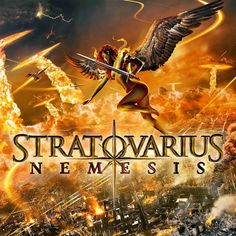 Nemesis is the fourteenth studio album by power metal band Stratovarius, released on 22 February 2013 through Edel AG. Thrash Metal, Power Metal Bands, Beast, Studios, Pochette Album, Gothic Metal, Metal Sinfónico, Black Metal, Symphonic Metal