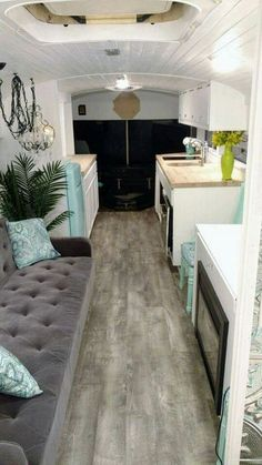 The Glamping Bus by Skoolie Homes Camping has reinvented itself and is becomi… School Bus Camper, School Bus House, Bus Camping Car, Camping Glamping, Tyni House, Motorhome, Bus Living, Tiny Living, Gypsy Living