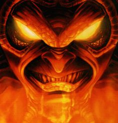 Demon is often confused with devil as both qualify the evil spirits or fallen angels. Dojo, Satan, Japanese Monkey, Pollock Paintings, Creepy, Scary, Blue Morpho, Beach Look, Horror Art