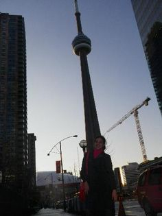 CN Tower in Downtown Toronto - glass floor, $35, Skypod an additional $12