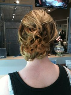 Can never go wrong with a classy updo