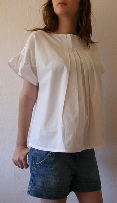 Handmade clothes from Japanese Sewing Pattern book. Learn how to sew them at http://www.japanesesewingpatterns.com/