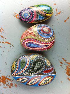 Pretty, designed rocks! More