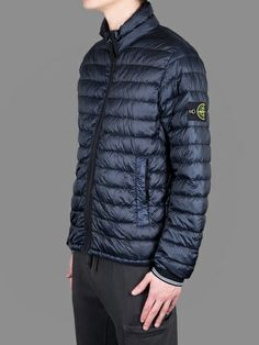 Stone island down filled jacket