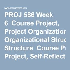 proj 586 case study Course resources: proj 587 course project, case study, quizzes useful guidance material for devry university students to secure higher grades.