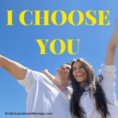 Every day you make the choice to love, honor, and cherish your spouse. Today is no different. Make this Monday a good one, let them know that today you choose them. Tag them in the comments. Romantic Love Letters, You And I, Love You, I Choose You, Married Life, Vows, Singing, Marriage, Action