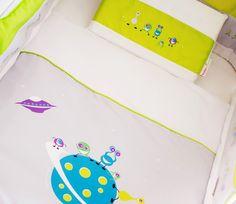 Oogle Boogle Alien #alien#linen#kidslinen#baby#toddler#decor#design#interiors#nuresery#babeliciousdecor#boy