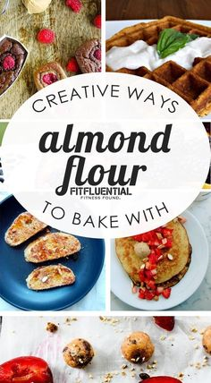 Watching your weight? Almond flour is high in protein but low in carbohydrates and sugar. Looking to add more antioxidants to your diet? Almond flour is a great source of Vitamin E, an antioxidant that protects cells and supports immune function. Almond flour is cholesterol free, high in fiber and contains heart healthy monounsaturated fats. These creative ways to bake with almond flour have my mouth watering!