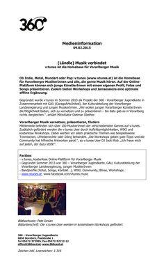 """360 card: Medienaussendung zur Kooperation zwischen v:tunes, der Musikplattform der 360 card und der Feldkircher Location """"poolbar"""". Pool Bar, Indie, Workshop, Pop, Location, Platform, Guys, Musik, Atelier"""