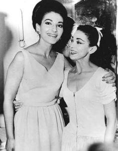 Maria Callas & Margot Fonteyn