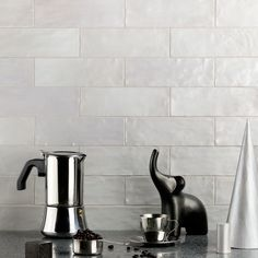 Ivy Hill Tile Amagansett 2 in. x 8 in. / – The Home Depot - Modern Modern Kitchen Cabinets, Kitchen Backsplash, Kitchen Decor, Kitchen Ideas, Backsplash Ideas, Kitchen Modern, Kitchen Trends, Kitchen Styling, Kitchen Stuff