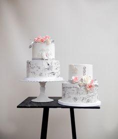 Contemporary wedding cakes by Sevacha cake