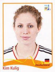 Panini Kim Kulig Deutschland FIFA Frauen WM 2011 Germany