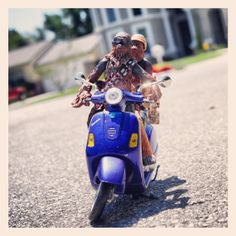 scooting with the homies by TOYPHOTOGRAPHY on Etsy, $20.00