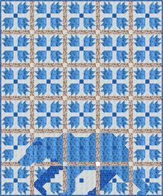 Sew Fresh Quilts: MOD Bear Paw QAL - Cutting Instructions
