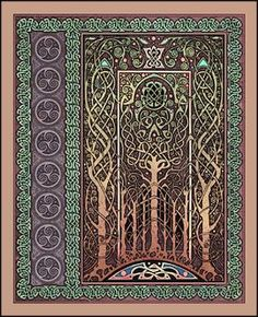 Tanglewood Celtic Art Blank Book (Lined)