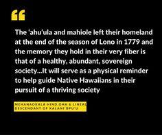 Share your manaʻo... What makes the return of chief Kalani'ōpu'u's 'ahu'ula and mahiole special to you? #Kalaniopuu #oha www.bishopmuseum.org/Kalaniopuu