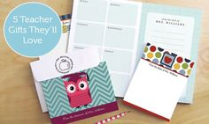 5 Teacher Gifts They'll Love | Expressionery #teachergifts