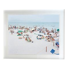 I would love to have one of these beach prints from Massimo Vitali.