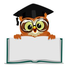 Owl Showing An Open Empty Book Stock Vector - Illustration of mortar, finish: 78564796 Class Decoration, School Decorations, Peacock Bird, Male Peacock, Empty Book, Boarder Designs, Owl Classroom, Vintage Illustration Art, Owl Logo