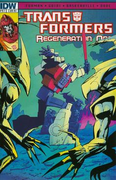 Transformers Regeneration One #97 Cover C Incentive Geoff Senior Variant Cover