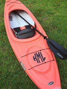 Kayak monogram