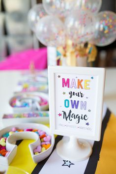 You are Magical Unicorn Mini Sign-Make Your Own Magic | by Jessica Wilcox of Modern Moments Designs