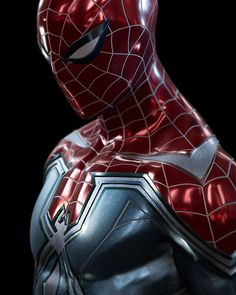 Geek Discover Will Tom Holland wear this Spiderman cross Iron Man suit for the MCU& Marvel Spiderman Far From Home? Spiderman Suits, Black Spiderman, Spiderman Art, Amazing Spiderman, Marvel Art, Marvel Dc Comics, Marvel Heroes, Marvel Movies, Iron Man Wallpaper