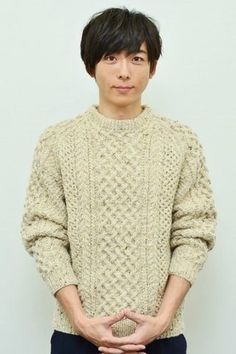 Japanese Icon, Japanese Male, Groom Style, People Photography, Knit Patterns, Actors & Actresses, Beautiful Men, Men Sweater, Handsome