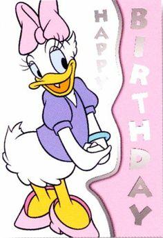 daisy duck | Daisy Duck Birthday Card