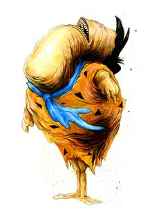 Icans, Artist Alex Pardee Re-Imagines Iconic Pop Culture Characters