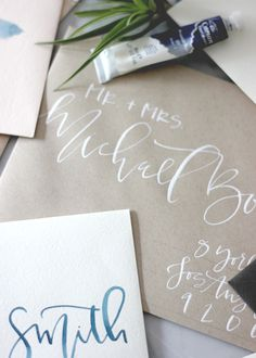 Kraft Wedding Envelopes | A Fabulous Fete