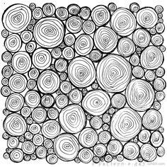 A Pattern a Day - this looks like logs in a wood-pile and would make a great background pattern