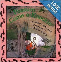 Possum Come A-Knockin' (Dragonfly Books): Nancy Van Laan, George Booth: 9780679834687: Amazon.com: Books