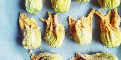 °recipe° super easy courgette flowers recipe! 5 min baked courgette flowers!  roasted courgette flowers