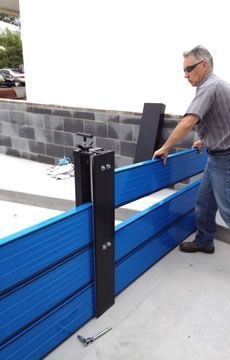 17 Floodproofing walls and gates ideas | flood barrier, flood protection, flood  prevention