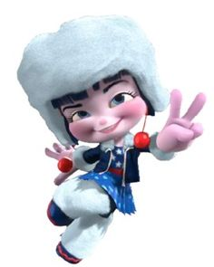 Adorabeezle Winterpop, Sugar Rush racer - Wreck-it Ralph (She's my fave... well, except for Miss-High-and-Mighty-President)