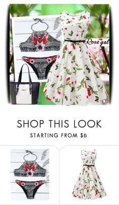 """""""Rosegal 3/77"""" by amerlinakasumovic ❤ liked on Polyvore"""
