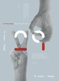 Cartaz MCB - 29º Prêmio Design - Gustavo Kone