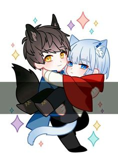 Cute Manhwa, Illustrations And Posters, Anime Chibi, Webtoon, Art Inspo, Anime Characters, Funny Pictures, Animation, Fan Art