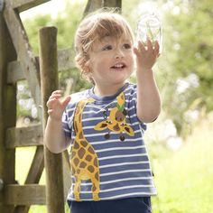 Giraffe Appliqué T Shirt, Boys Tops and And Shirts, Boys Clothes, Girls and Boys