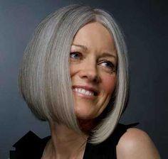 15 Bob Hairstyles for Older Ladies