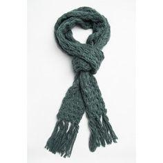 Foulard classique à tricot avec frange #ARDENEWISHLIST