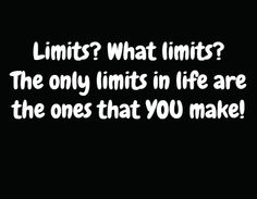 Limits exist only in your mind! 5 ways to get back on track >> http://www.insearch4success.com/consistent-with-new-years-resolution/
