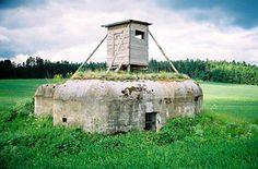 Cold war bunker/hunting lookout- near Slavonice, Czech Republic