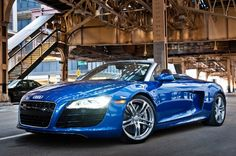 Audi r8 v10 spyder. the most beautiful car in existence..... well, for being a new car anyways. I prefer old cars.